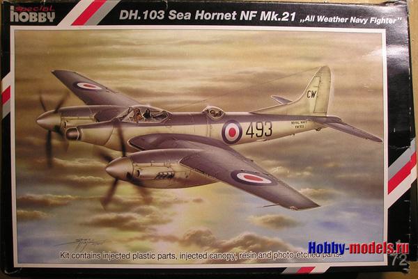 Special Hobby 72059 D.H.103 Си Хорнет NF. Mk.21