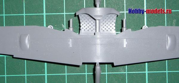 Zvezda Fw-190 wheel bays