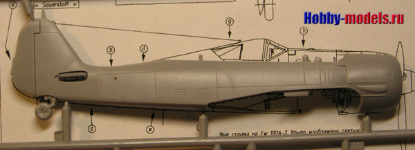 Fw-190 plans