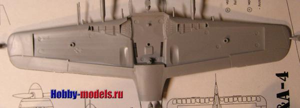 Zvezda FW 190 model plans