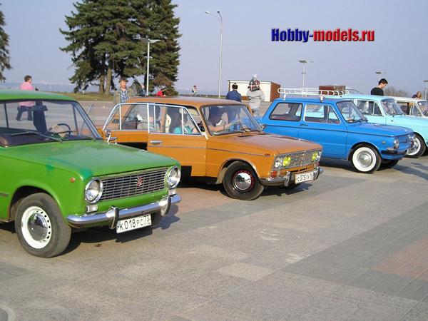 Выставка ретро машин