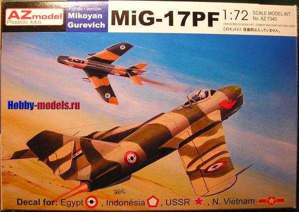 AZ model MiG-17pf
