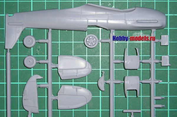 spitfire mk.24 detail