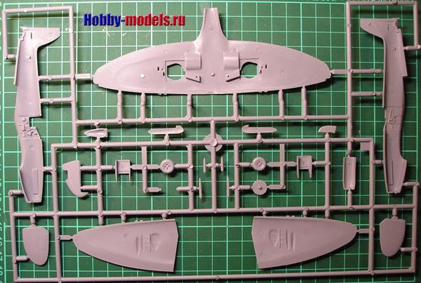Модель spitfire mk.22