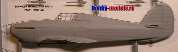 model plans Hawker Hurricane
