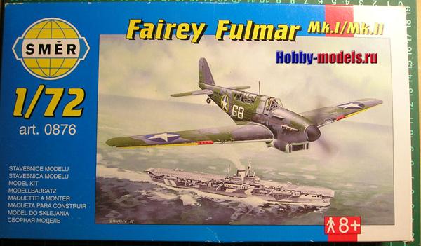 Smer Fairey Fulmar