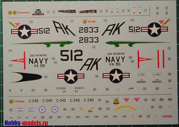 Airfix skyhawk decal