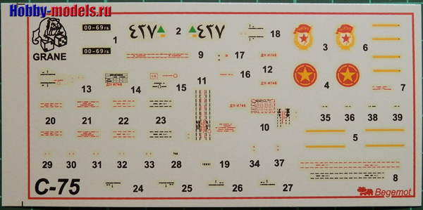 s-75 decal