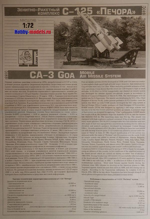 S-125 Pechora instr