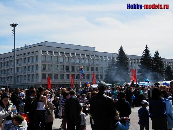 Жители Ульяновска 9 мая 2014