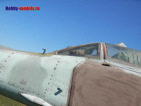 MiG-27 armored plate
