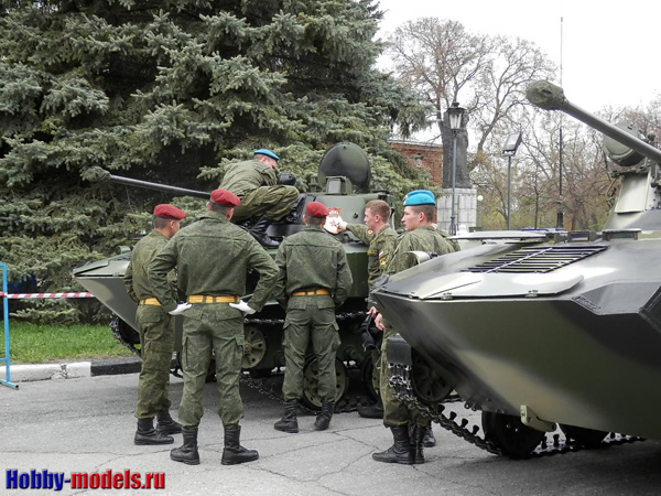 подготовка к параду, Ульяновск 9 мая 2015