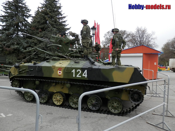 подготовка к параду, 31-я бригада ВДВ
