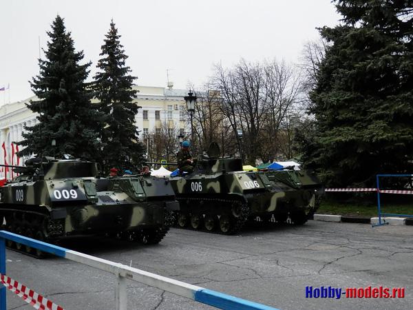 подготовка парада в День Победы