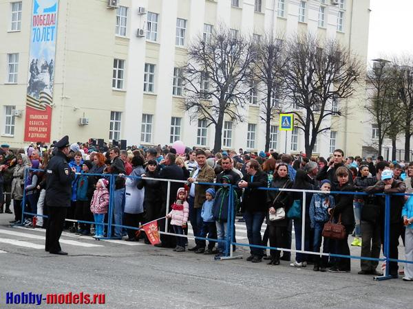 Военный парад в Ульяновске