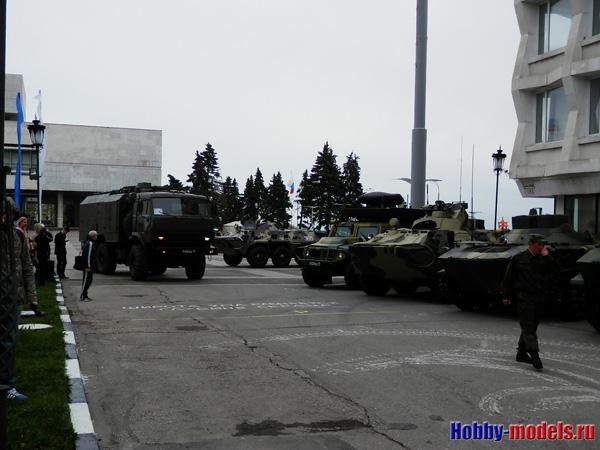 выставка военной техники десантников