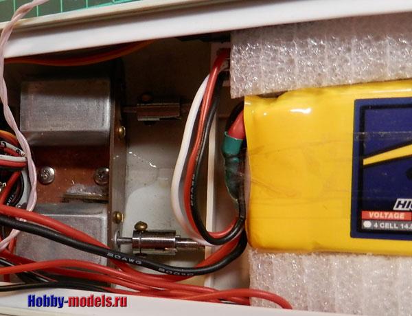 Аккумуляторы в радиоуправляемой модели катера