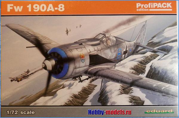 модель Eduard Fw-190a8