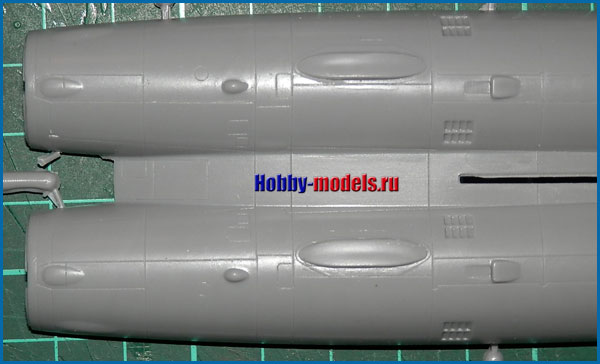 модель самолета Ту-22