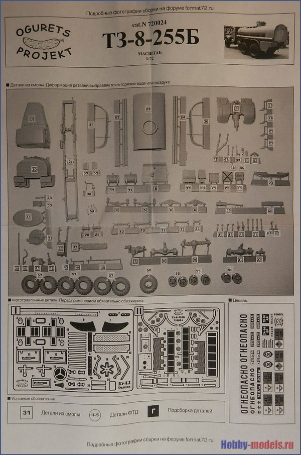 Инструкция КрАЗ-255Б