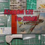 Самолет Fw-190d9. Сборная модель.