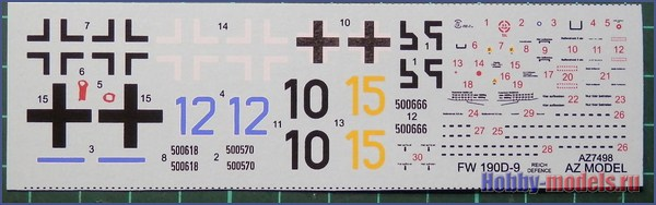 fw-190d9 decal